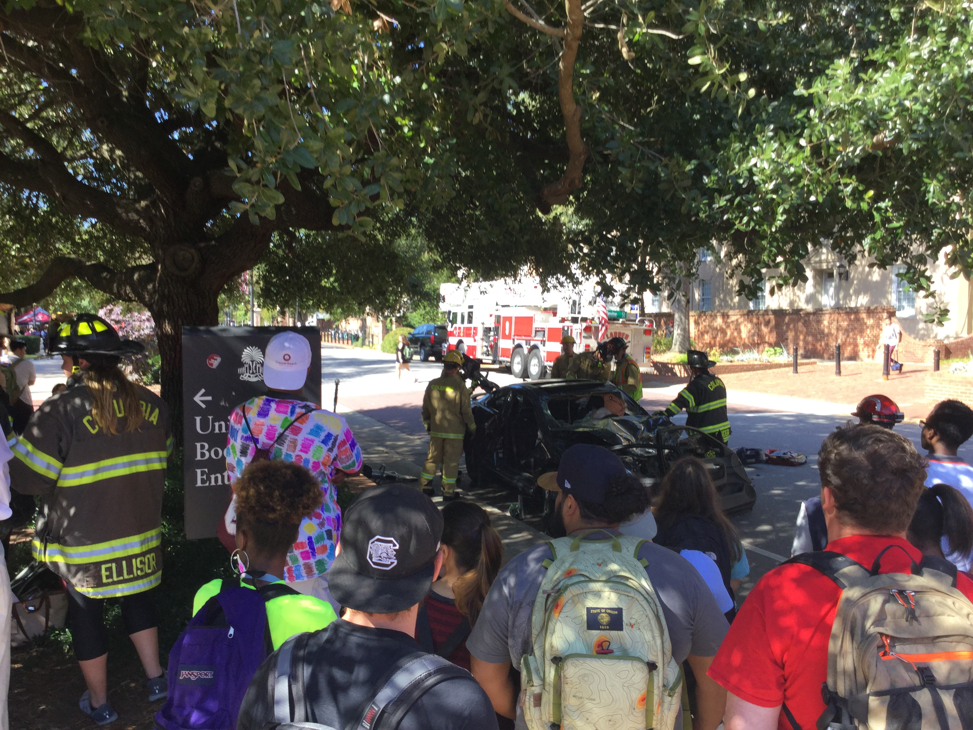 USC Safety Day auto extrication
