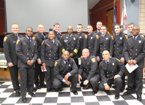 Graduation Brings 15 New Firefighters Into CFD