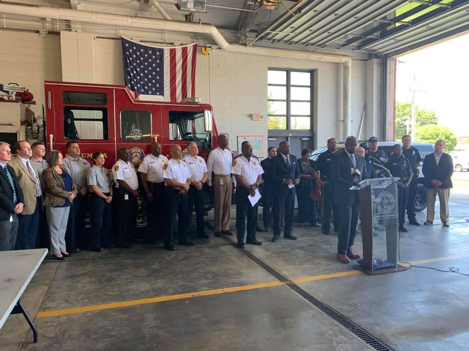CFD among City of Columbia departments to launch partnership